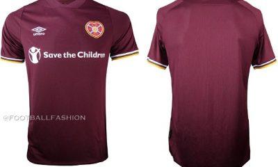 Hearts FC 2020 2021 Umbro Home Football Kit, Soccer Jersey, Shirt