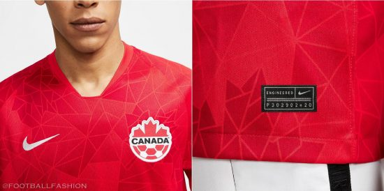 Canada 2020 2021 Nike Home Soccer Jersey, Football Kit, Shirt, Maillot