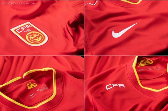 China 2020 2021 Nike Home and Away Football Kit, Soccer Jersey, Shirt