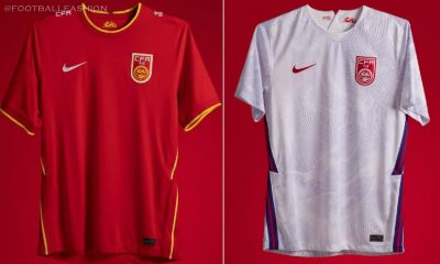 China 2020 2021 Nike Home and Away Football Kit, Soccer Jersey, Shirt