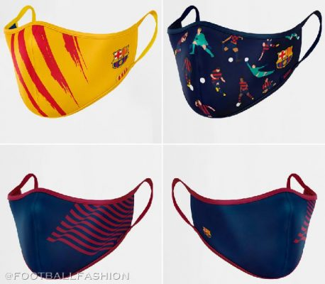 FC Barcelona Launch In-House 2020 Covid-19 Face Masks