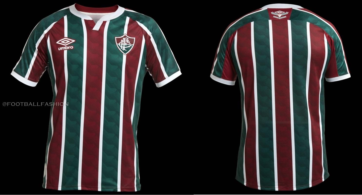 Fluminense 2020/21 Umbro Home and Away Kits - FOOTBALL FASHION