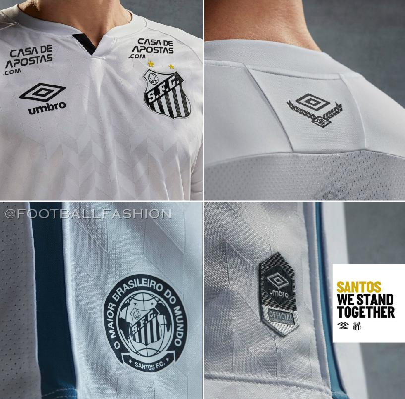 NEW 2019-2020 Santos Futebol Clube Home//Away Soccer Jersey Short Sleeves T shirt