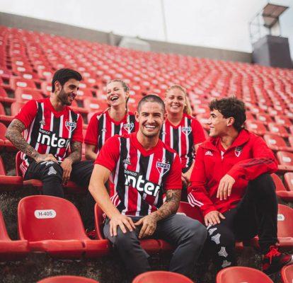 São Paulo FC 2020 2021 adidas Away Soccer Jersey, Football Kit, Shirt, Camiseta de Futbol, Camisa II do Futebol
