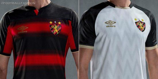 Sport Recife 2020 2021 Umbro Home and Away Football Kit, Soccer Jersey, Shirt, Camisa