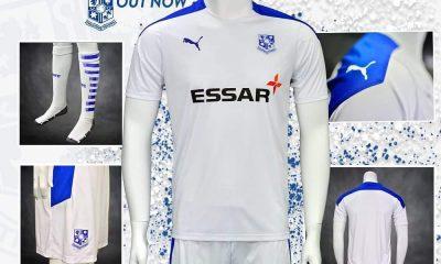 Tranmere Rovers 2020 2021 PUMA Home Football Kit, Soccer Jersey, Shirt