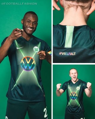 VfL Wolfsburg 2020 Nike #Diversity  #Viefalt Soccer Jersey, Shirt, Football Kit, Trikot, Sondertrikot