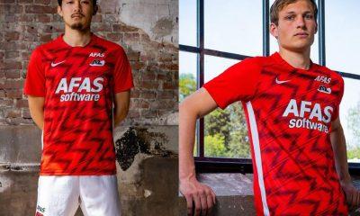 AZ Alkmaar 2020 2021 Nike Home Football Kit, 2020/21 Soccer Jersey, 2020-21 Shirt, Thuisshirt