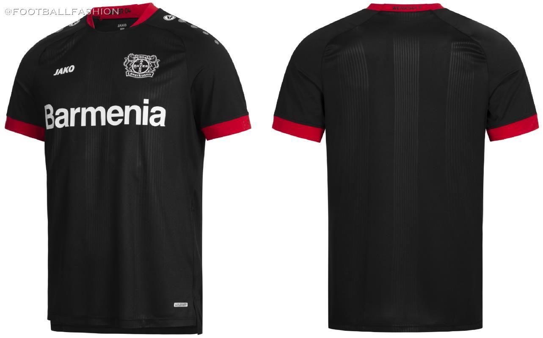 Bayer 04 Leverkusen 2020/21 Jako Home Kit - FOOTBALL FASHION