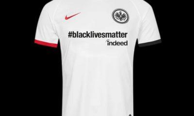 Eintracht Frankfurt #blacklivesmatter 2020 Nike Football Kit, Soccer Jersey, Shirt, Trikot