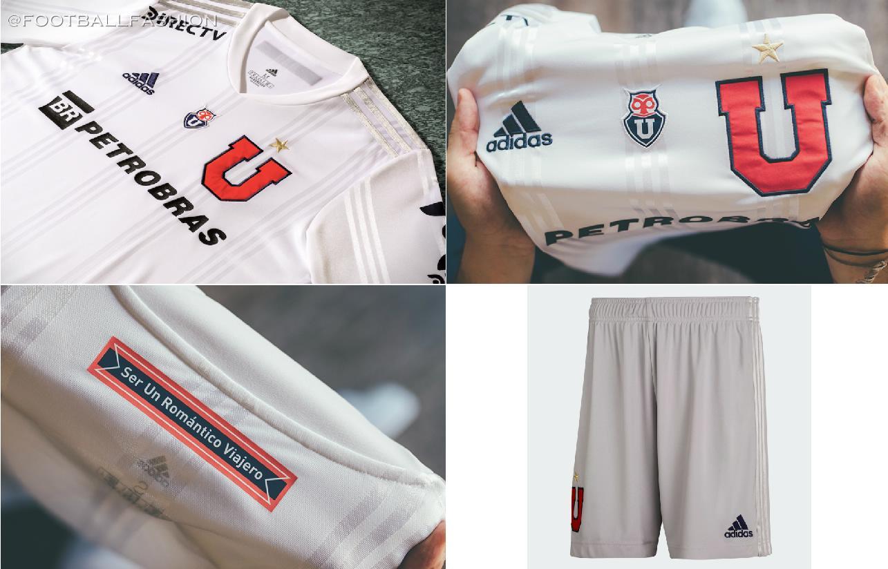 Club Universidad de Chile 2020/21 adidas Away Kit - FOOTBALL FASHION