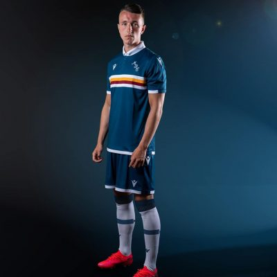 Motherwell FC 2020 2021 Macron Away Football Kit, Soccer Jersey, Shirt