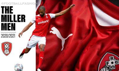 Rotherham United 2020 2021 PUMA Home Football Kit, 2020/21 Soccer Jersey, 2020-21 Shirt