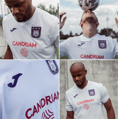 RSC Anderlecht 2020 2021 Joma Home and Away Football Kit, 2020/21 Soccer Jersey, 2020-21 Shirt, Maillot, Tenue