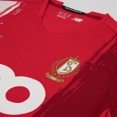 Standard de Liège New Balance 2020 2021 Home Football Kit. 2020/21 Soccer Jersey, 2020-21 Shirt, 20/21 Maillot