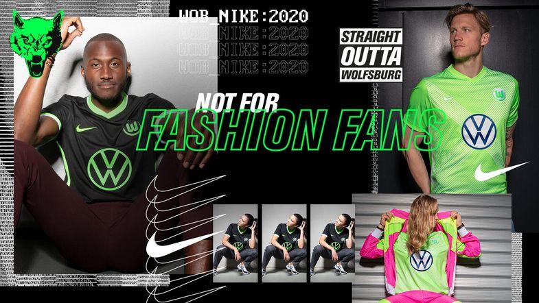 VfL Wolfsburg 2020/21 Nike Home and Away Kits - FOOTBALL FASHION
