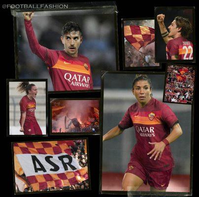 AS Roma 2020 2021 Nike Home Football Kit, 2020-21 Soccer Jersey, 2020/21 Shirt, Gara, Maglia, Camisa, Camiseta