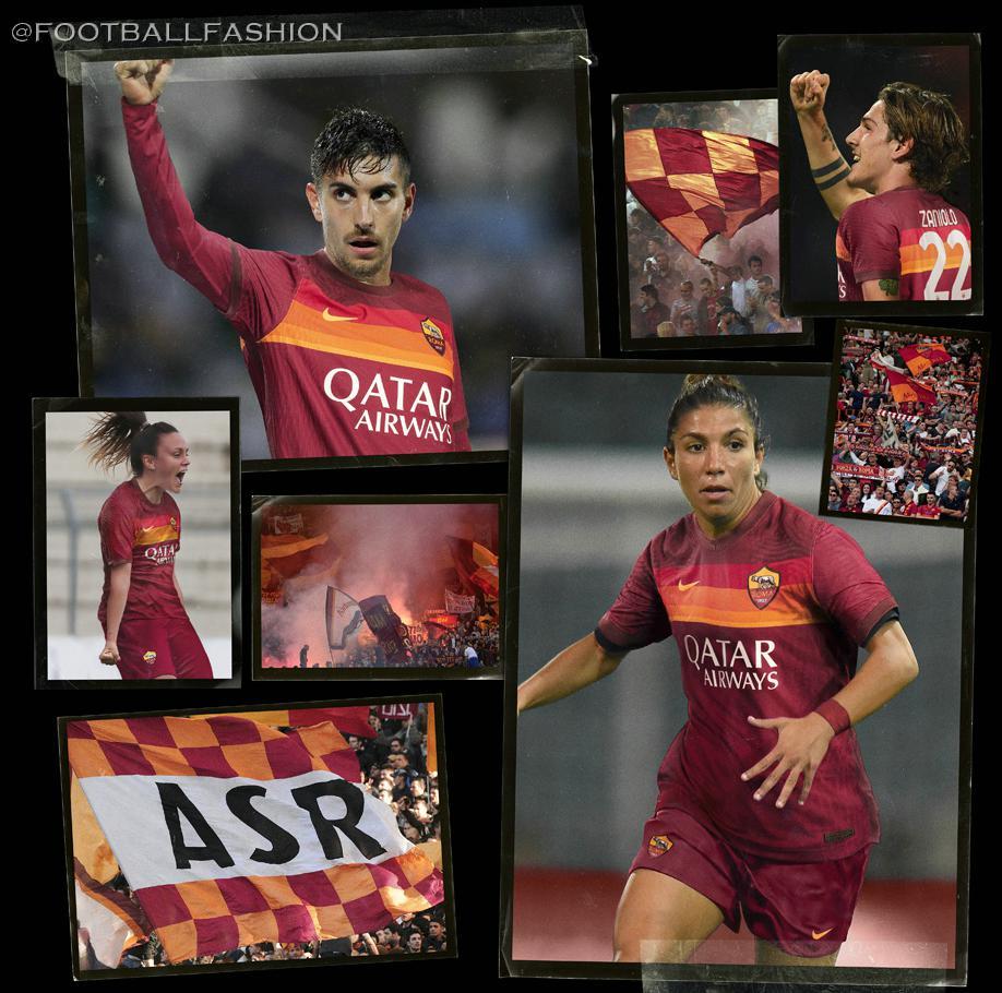 Maglia Calcio Vintage Football Shirt Roma Jersey Away 2020/21 ...