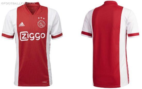 AFC Ajax 2020 2021 adidas Home Football Kit, 2020-21 Shirt, 2020/21 Soccer Jersey, Thuisshirt