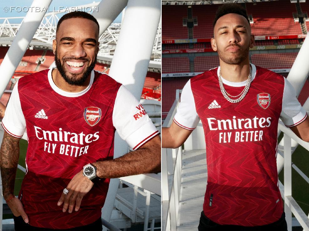 Arsenal 2020 21 Adidas Home Kit Football Fashion Org