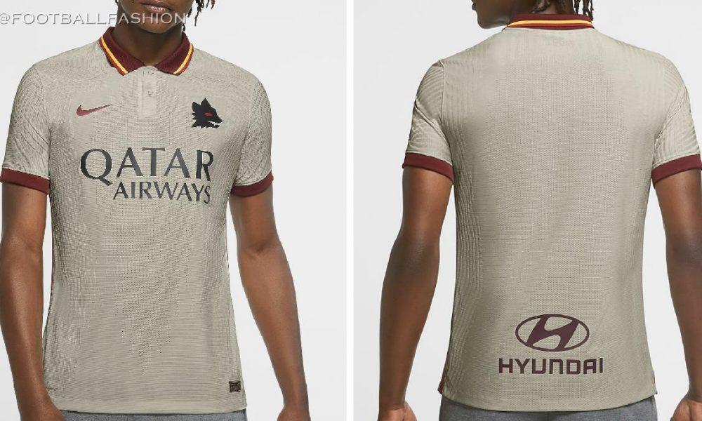 AS Roma 2020/21 Nike Away Kit - FOOTBALL FASHION