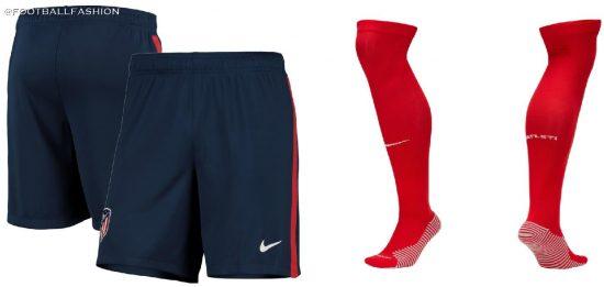 Atlético Madrid 2020 2021 Nike Home Football Kit, 2020-21 Soccer Jersey, Shirt, 2020/21 Camiseta de Futbol, Equipacion, Maillot, Trikot