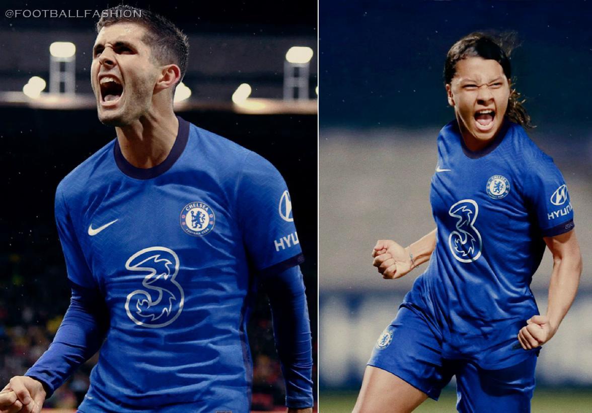 Chelsea Fc 2020 21 Nike Home Kit Football Fashion