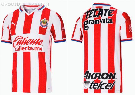 Chivas de Guadalajara 2020 2021 PUMA Home and Away Soccer Jersey, 2020/21 Shirt, 2020-21 Football Kit, Camiseta de Futbol, Equipacion