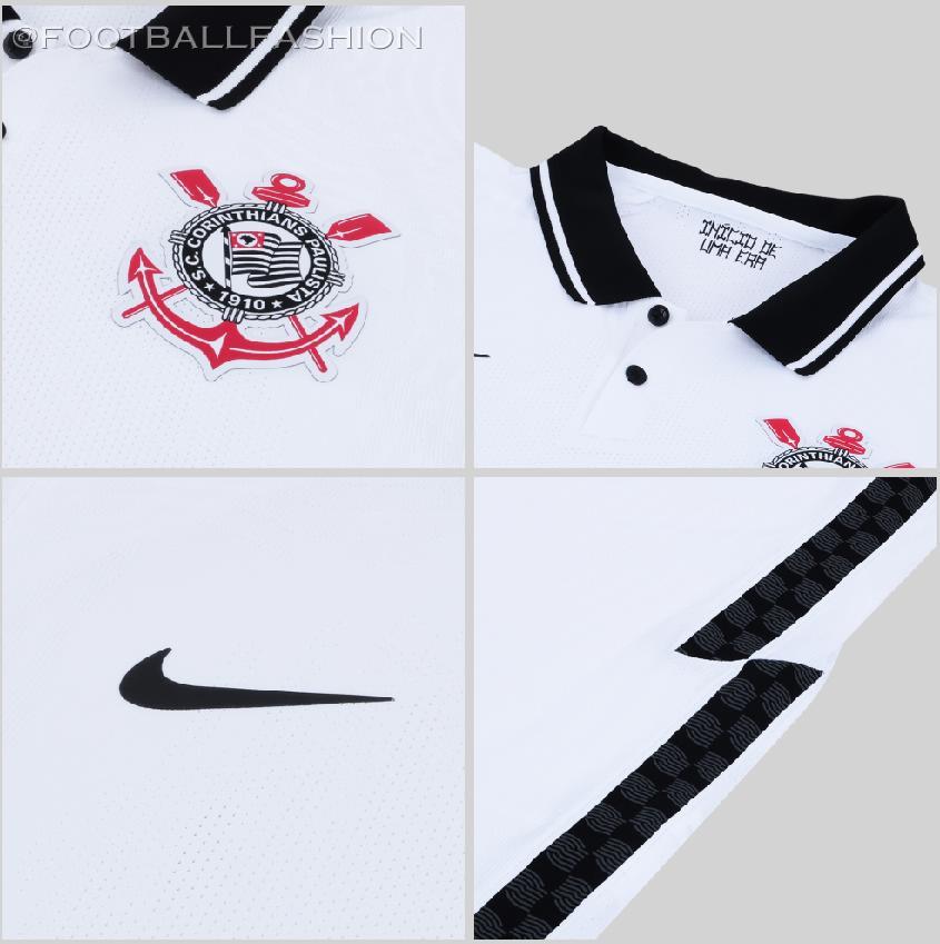 2020-2021 Sport Club Corinthians Paulista Home//Away Soccer Jersey T shirt