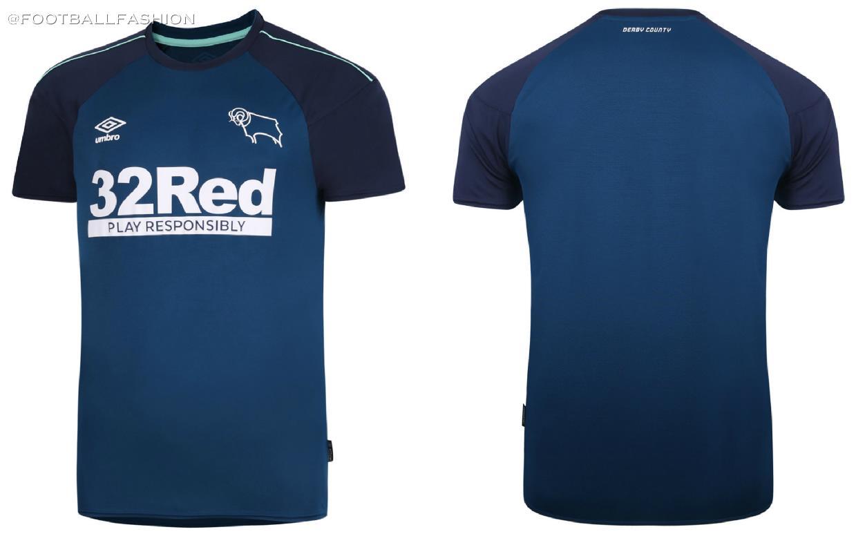 Derby County 2020/21 Umbro Away Kit - FOOTBALL FASHION