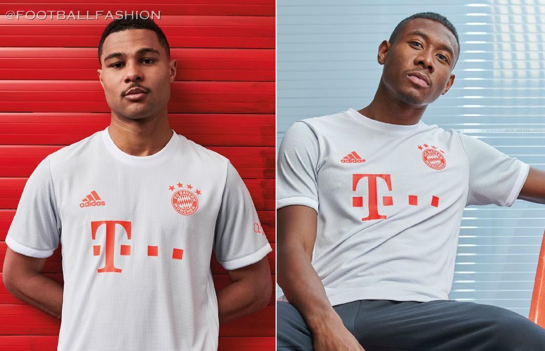 Bayern Munich 2020 2021 adidas Away Football Kit, 2020-21 Soccer Jersey, 2020/21 Shirt, Trikot, Maillot, Tenue, Camisa, Camiseta