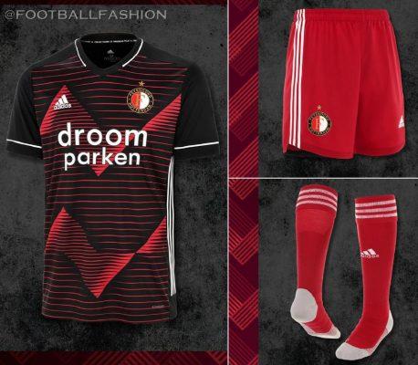 Feyenoord Rotterdam 2020/21 adidas Away Kit - FOOTBALL FASHION