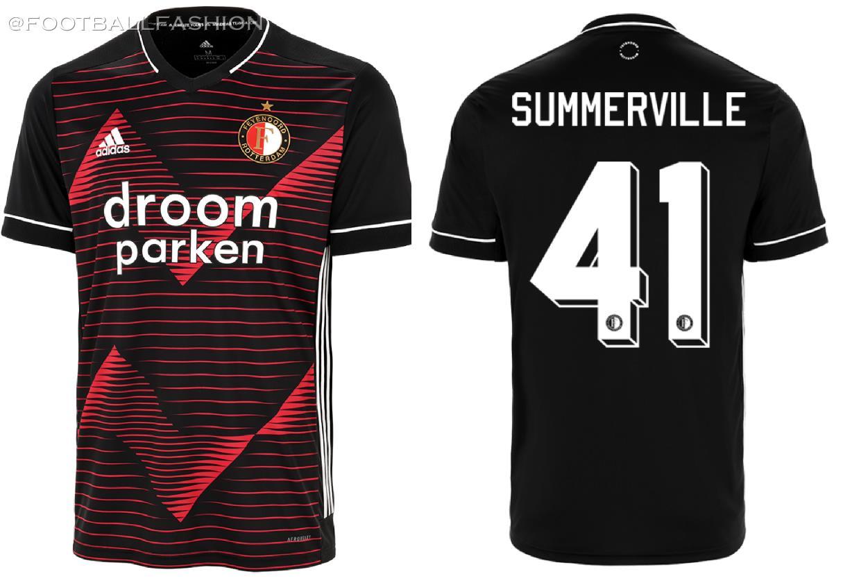 Feyenoord Rotterdam 2020 2021 adidas Away Football Kit, Soccer Jersey, Shirt, Tenue, Uitshirt, Uittenue
