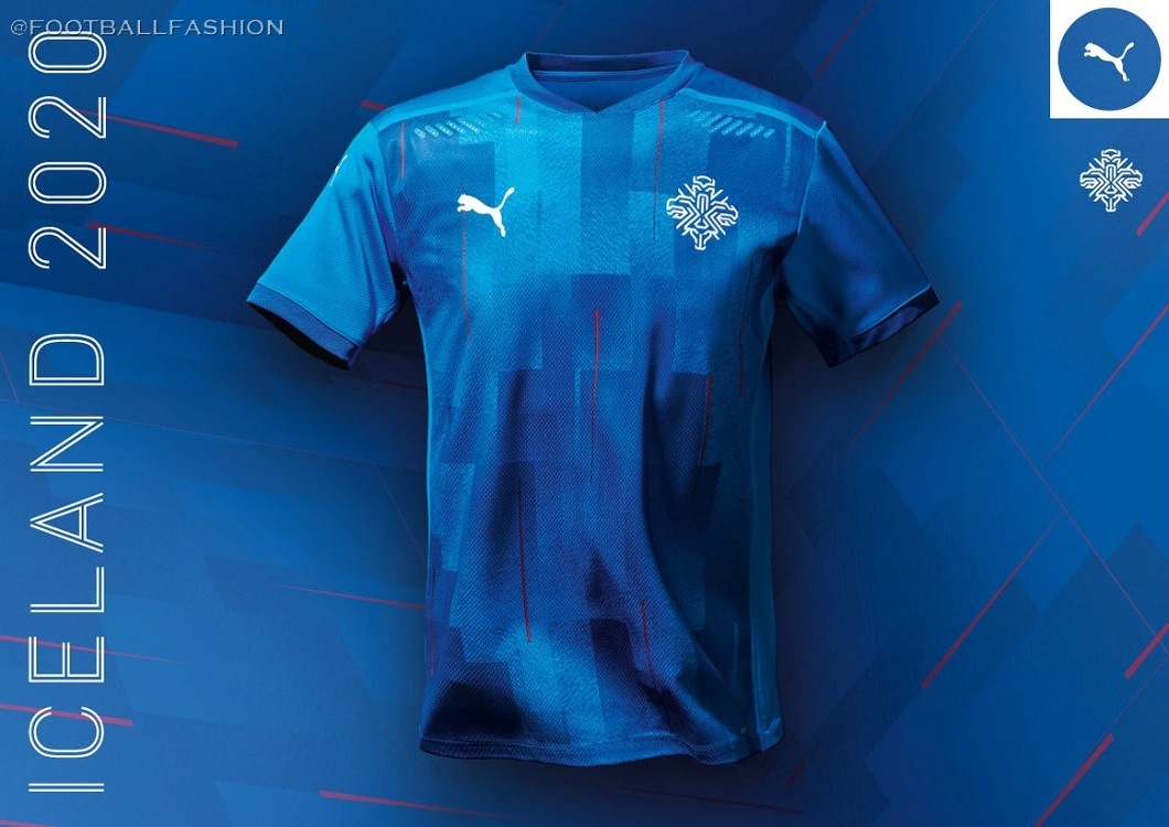 Iceland 2020/21 PUMA Home Kit - FOOTBALL FASHION.ORG