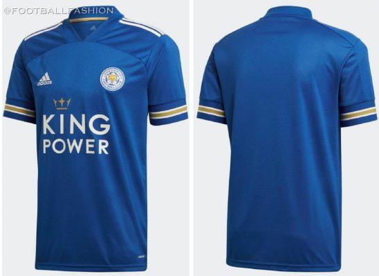 Leicester City 2020 2021 adidas Home Football Kit, 2020/21 Soccer Jersey, 2020-21 Shirt