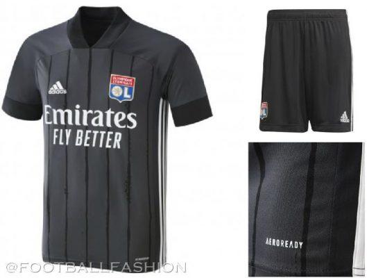 Olympique Lyon 2020 2021 adidas Home and Away Football Kit, 2020-21 Soccer Jersey, 2020/21 Shirt, Maillot