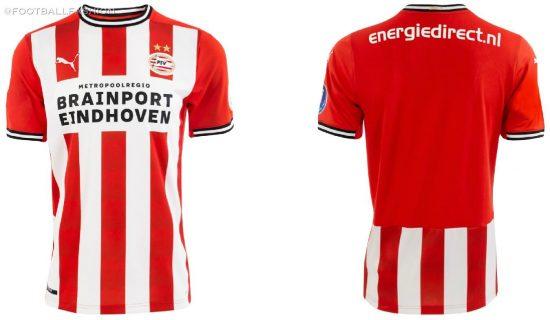 PSV Eindhoven 2020 2021 PUMA Home Football Kit, Soccer Jersey, 2020-21 Shirt, 2020/21 Thuisshirt