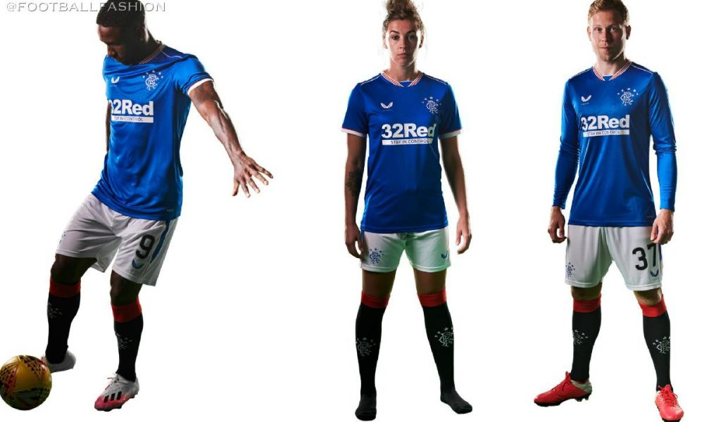 Rangers FC 2020/21 Castore Home Kit - FOOTBALL FASHION