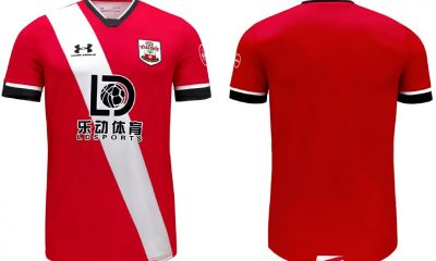 Southampton 2020 2021 Under Armour Home and Third Football Kit, 2020/21 Shirt, 2020-21 Soccer Jersey