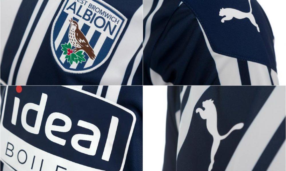 West Bromwich Albion 2020/21 PUMA Home Kit - FOOTBALL ...