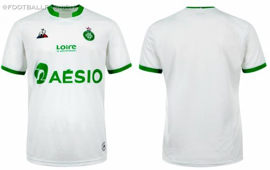 AS Saint-Étienne 2020 2021 le coq sportif Home and Away Football Kit, 2020-21 Maillot, 2020/21 Soccer Jersey, Shirt