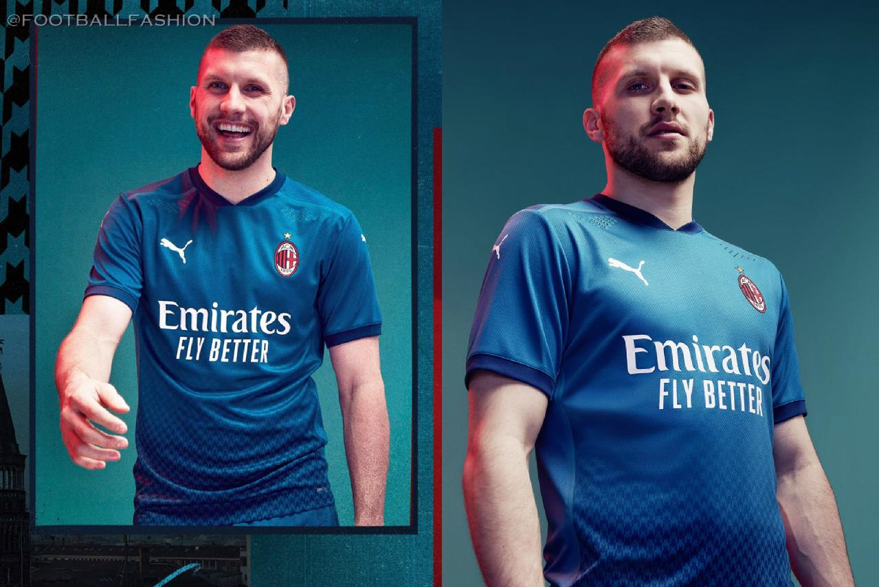 Ac Milan 2020 21 Puma Third Kit Football Fashion Org