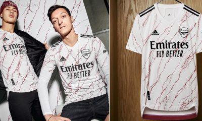 Arsenal FC 2020 2021 adidas Away Football Kit, 2020/21 Shirt, 2020-21 Soccer Jersey, Maillot, Camiseta, Camisa, Trikot, Tenue