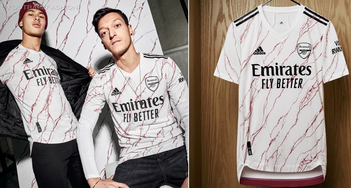 Arsenal Fc 2020 21 Adidas Away Jersey Football Fashion Org