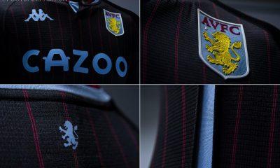 Aston Villa 2020 2021 Kappa Away Football Kit, 2020-21 Soccer Jersey, 2020/21 Shirt