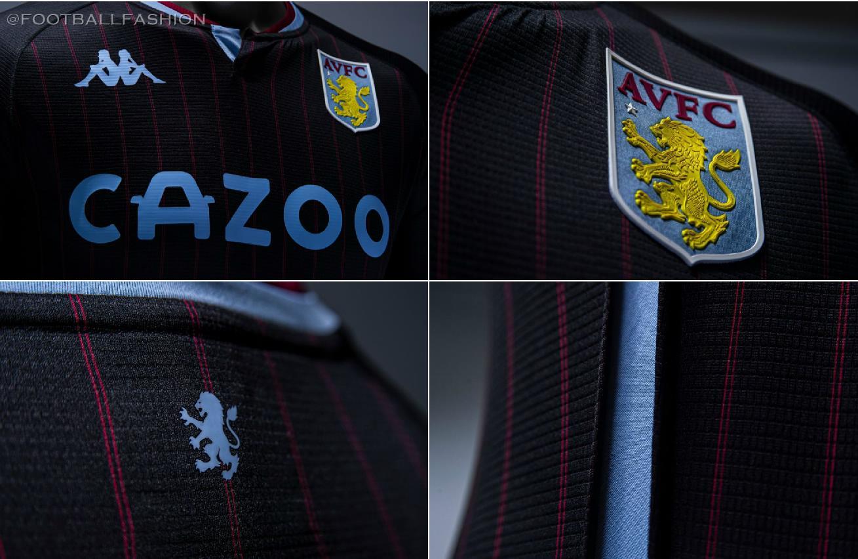 Aston Villa 2020 21 Kappa Away Jersey Football Fashion Org