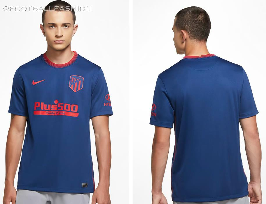 Atletico De Madrid 2020 21 Nike Away Kit Football Fashion