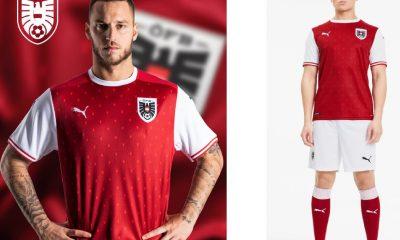 Austria 2020 2021 PUMA Home Football Kit, 2020-21 Soccer Jersey, 2020/21 Shirt, Trikot