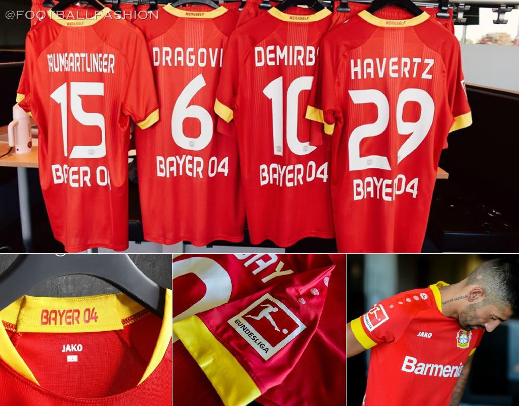 Bayer 04 Leverkusen 2020/21 Jako Home and Away Kits - FOOTBALL FASHION