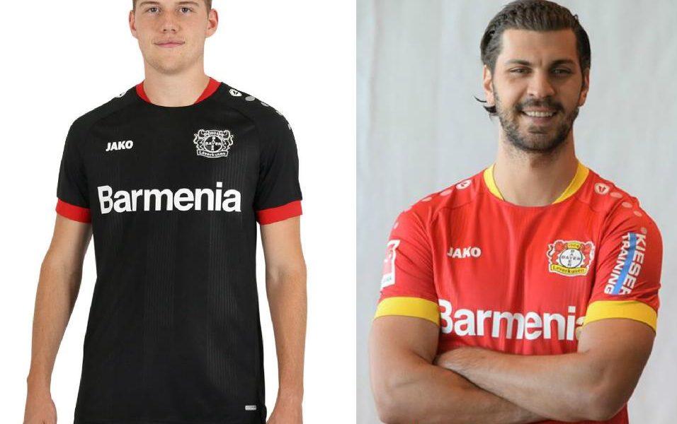 JAKO Bayer O4 Leverkusen Trikot Home Herren 2021